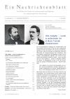 Ein Nachrichtenblatt Nr.13 2020 SONDERNUMMER V. Schröer (Druckausgabe)