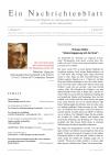 Ein Nachrichtenblatt Nr. 1 2017 (Druckausgabe)