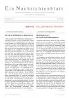 Ein Nachrichtenblatt Nr. 13 2017 (Druckausgabe)