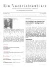 Ein Nachrichtenblatt Nr. 2 2018 (Druckausgabe)