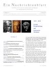 Ein Nachrichtenblatt Nr. 1 2019 (Druckausgabe)