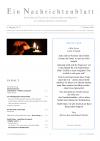 Ein Nachrichtenblatt Nr. 21 2019 (Druckausgabe)