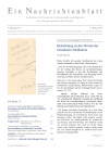 Ein Nachrichtenblatt Nr. 3 2019 (PDF)