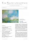 Ein Nachrichtenblatt Nr. 10 2020 (Druckausgabe)