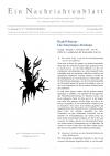 Ein Nachrichtenblatt Nr. 25 2020 (Druckausgabe)