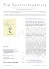 Ein Nachrichtenblatt Nr.14 SONDERNUMMER VI. Impfen mit NACHTRAG (Druckausgabe)