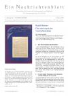 Ein Nachrichtenblatt Nr. 04 2021 (Druckausgabe)