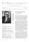 Ein Nachrichtenblatt Nr. 10 2021 (Druckausgabe)