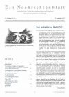 Ein Nachrichtenblatt Nr. 19 2021 (Druckausgabe)